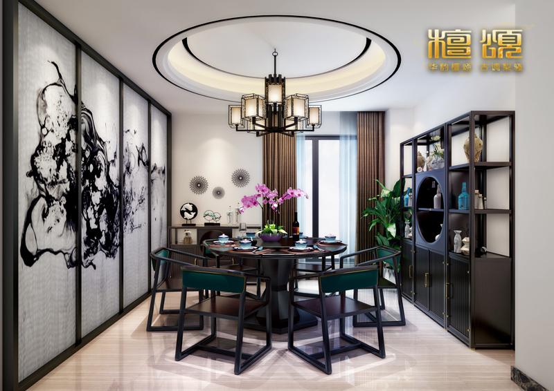 都常常成为新中式家具雕刻的图案